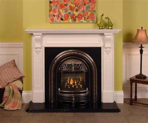 Coal For Gas Fireplace by Valor Fireplace Portrait