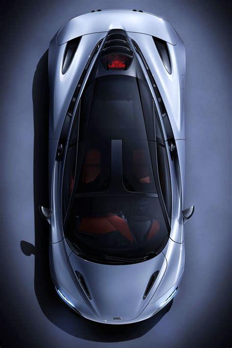 top view   mclaren  luxury hybrid cars car