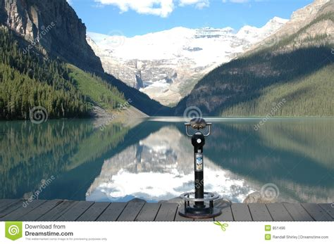 Castle Plans by Lake Louise Canada Royalty Free Stock Image Image 851496