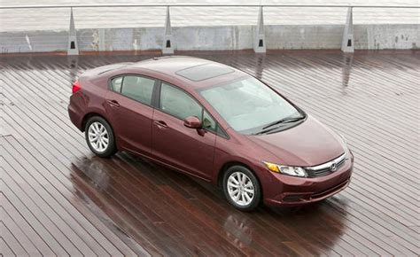 2012 Honda Civic Recall by 2012 Honda Civic Recalled For Driveshaft Separation