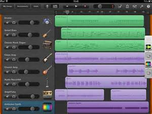 Garageband Tracks Les Paul Irig And Garageband Iphone Ipod Touch