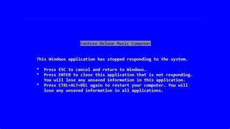 steve ballmer wrote  blue screen  death message