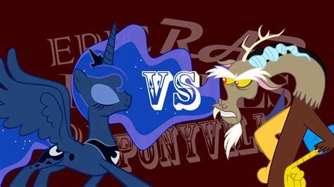 discord pubg indo fun epic rap battles of ponyville discord vs princess luna