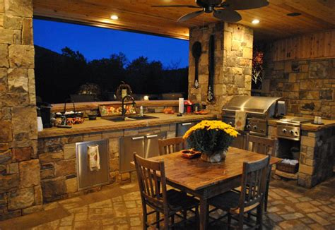 Outdoor Kitchen Lights Best Patio Garden And Landscape Lighting Ideas For 2014 Qnud