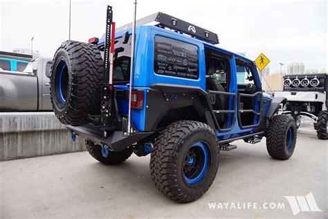 Bedrug Jeep 2016 Sema Bedrug Jeep Jk Wrangler Unlimited