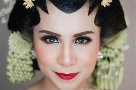 Make Up Bumiauw 5 inspirasi makeup pengantin adat jawa ala artis popbela