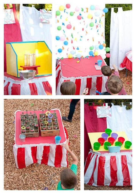 diy carnival themed decorations kara s ideas outdoor wedding reception carnival