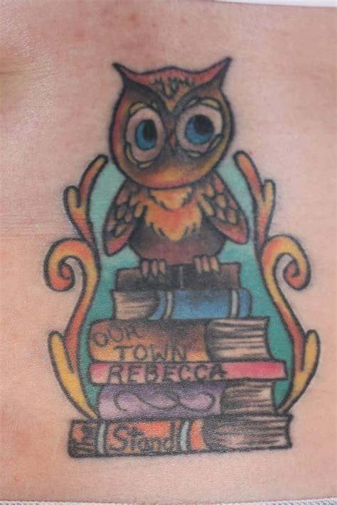 tattoo owl books inner bicep tattoo designs and ideas tattoos hunter page 7