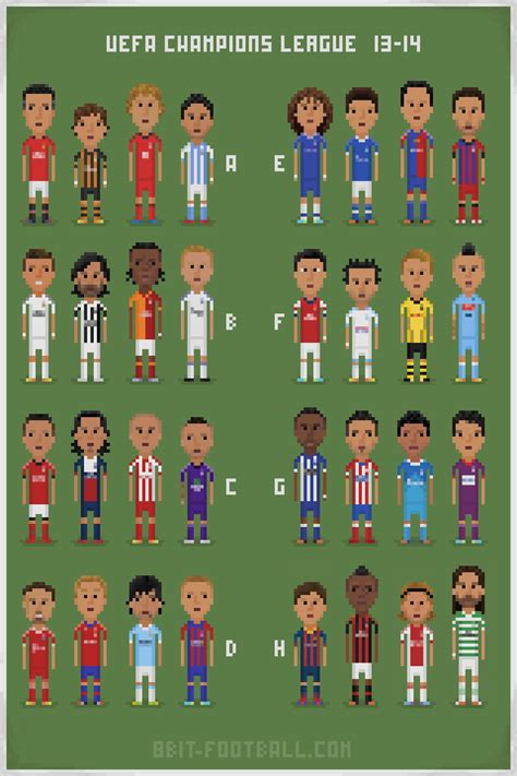 Fc Porto Standings by Belgian Clubs 8bit Football