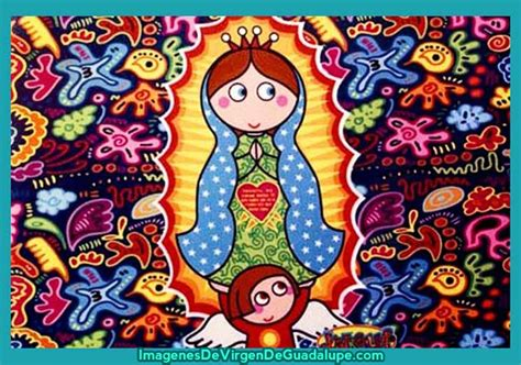 ver imagenes de la virgen de guadalupe para colorear guadalupe en caricatura imagenes de virgen de guadalupe