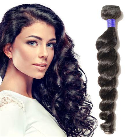 20 inch 1b black wavy 10 24 inch wavy peruvian hair 1b black