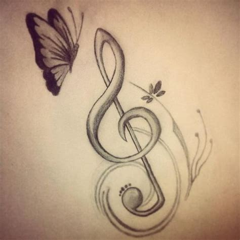 imagenes a lapiz de notas musicales google and search on pinterest