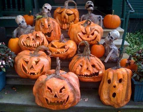How To Make Paper Mache Pumpkins - paper mache pumpkins must tryapplepins