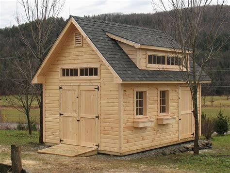 Build On Site Storage Sheds by Vermont Sheds And Barns Custom Built On Site Vermont