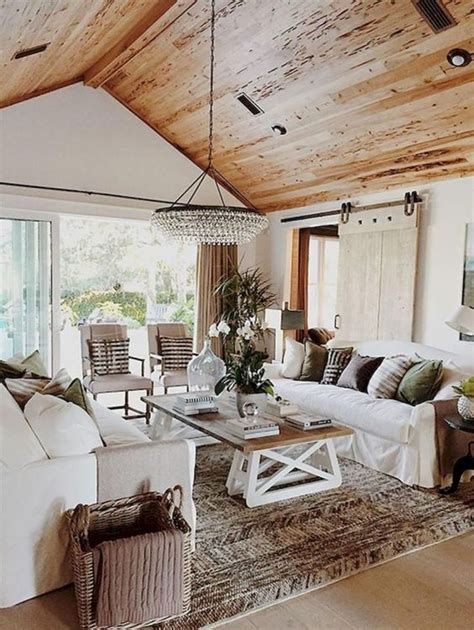 beautiful  cozy farmhouse living rooms shelterness