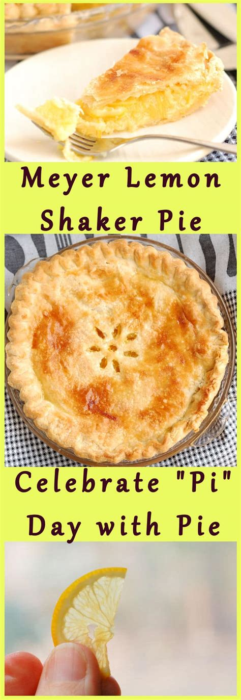Pies For Pi Day And Other Baking Tools by Meyer Lemon Shaker Pie For Quot Pi Quot Day Baking Sense