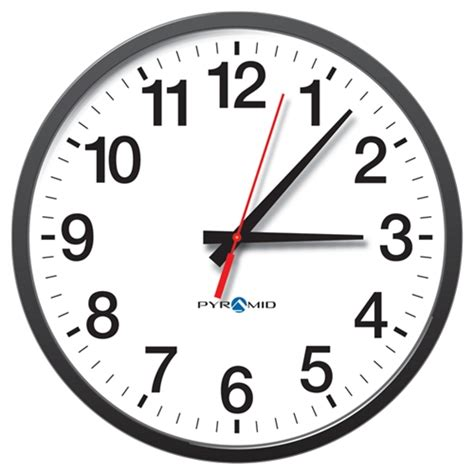 Jam Dinding Standard White analog battery wall clock 13 quot standard 12 hr
