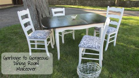 garbage to gorgeous episode 10 shabby chic dining room
