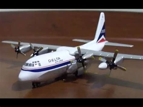 unboxing delta airlines cargo lockheed l 100 by gemini jets 1 400 scale