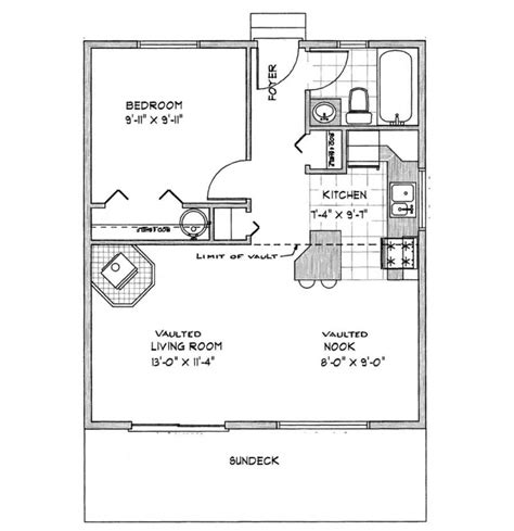guest cottage plans small