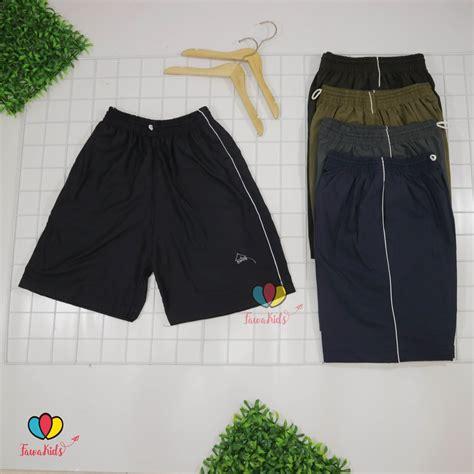 Celana Pendek Celana Olahraga Pria Celana Kolor Hi celana pendek dewasa polos uk normal hawai santai