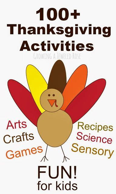 thanksgiving activity for 4th graders thanksgiving