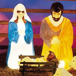 outdoor figures lighted outdoor lighted molded size nativity