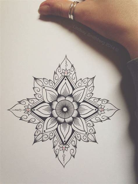 geometric lotus tattoo 17 best ideas about geometric flower on