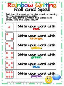 phillips phaves rainbow writing freebie