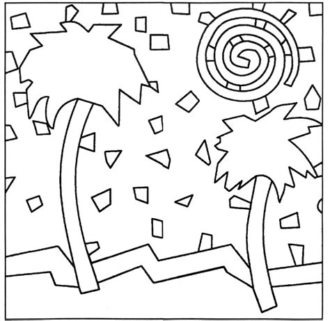 mosaic pattern worksheets pattern simple mosaic coloring pages daycare coloring