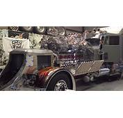 24 Cylinder Custom Show Truck With 12 Superchargers