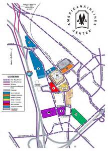 center parking map american airlines center parking guide dallas events