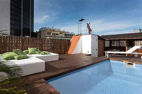luxury penthouse with terrace and swimming pool for sale in tribeca luxury apartments barcelona luxury pool penthouse