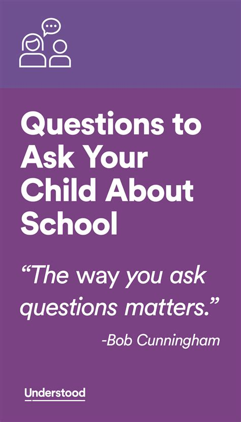 how to say it better questions to ask your child about