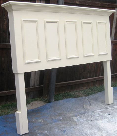 King Size Headboard Made From An Old Door Best King Size Make Headboard From Door