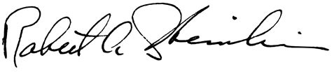 rob signature file robert a heinlein signature svg wikimedia commons