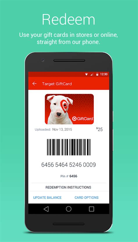 Mobil Gift Cards - gyft mobile gift card wallet android apps on google play