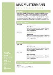 Lebenslauf Heute Beispiel Lebenslauf Muster F 252 R Die Bewerbung 2017 Meinebewerbung Net
