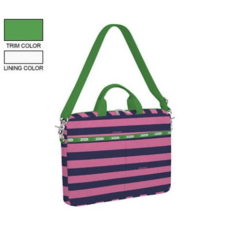 lesportsac 15 quot laptop bag rugby