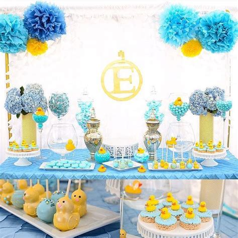rubber ducky baby shower table decor best 25 ducky baby showers ideas on rubber