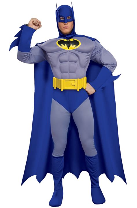 classic batman deluxe muscle chest batman halloween