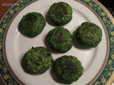 cucinare ricotta polpette di ricotta e spinaci ricette di cucina