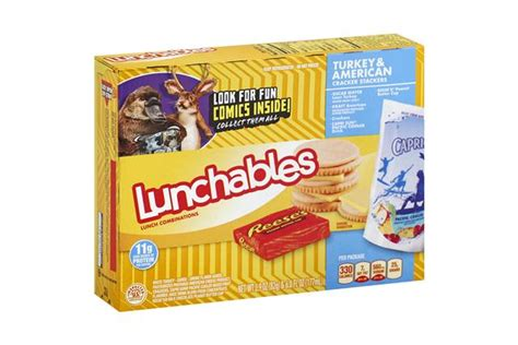 protein 8 oz turkey lunchables 17 8 oz convenience meals turkey and cheese 2