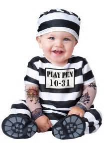 Infant Halloween Costumes Infant Time Out Prisoner Costume