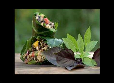 the victory garden eat recipes chicken wrap pbs