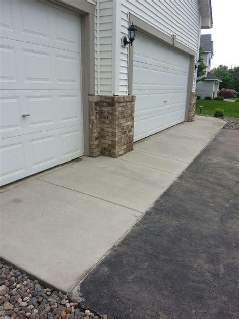 driveway apron minneapolis concrete driveways concrete aprons asphalt