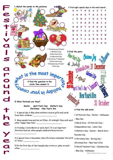s day song esl 39 free esl festivals worksheets