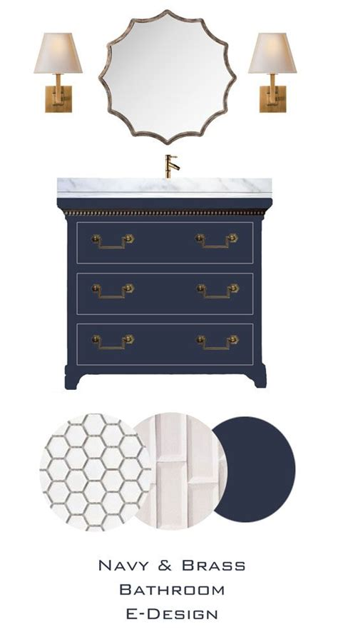 navy blue bathroom vanity 25 best ideas about blue vanity on pinterest blue