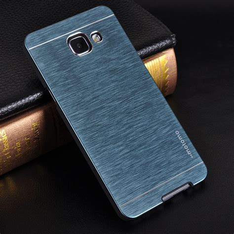 For Samsung A7 2016 Motomo Ino Metal for samsung a3 a5 a7 a9 luxury motomo brushed metal for samsung galaxy a5 2016 a710 a310