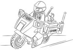 dibujo de moto de polic 237 a para colorear dibujos para